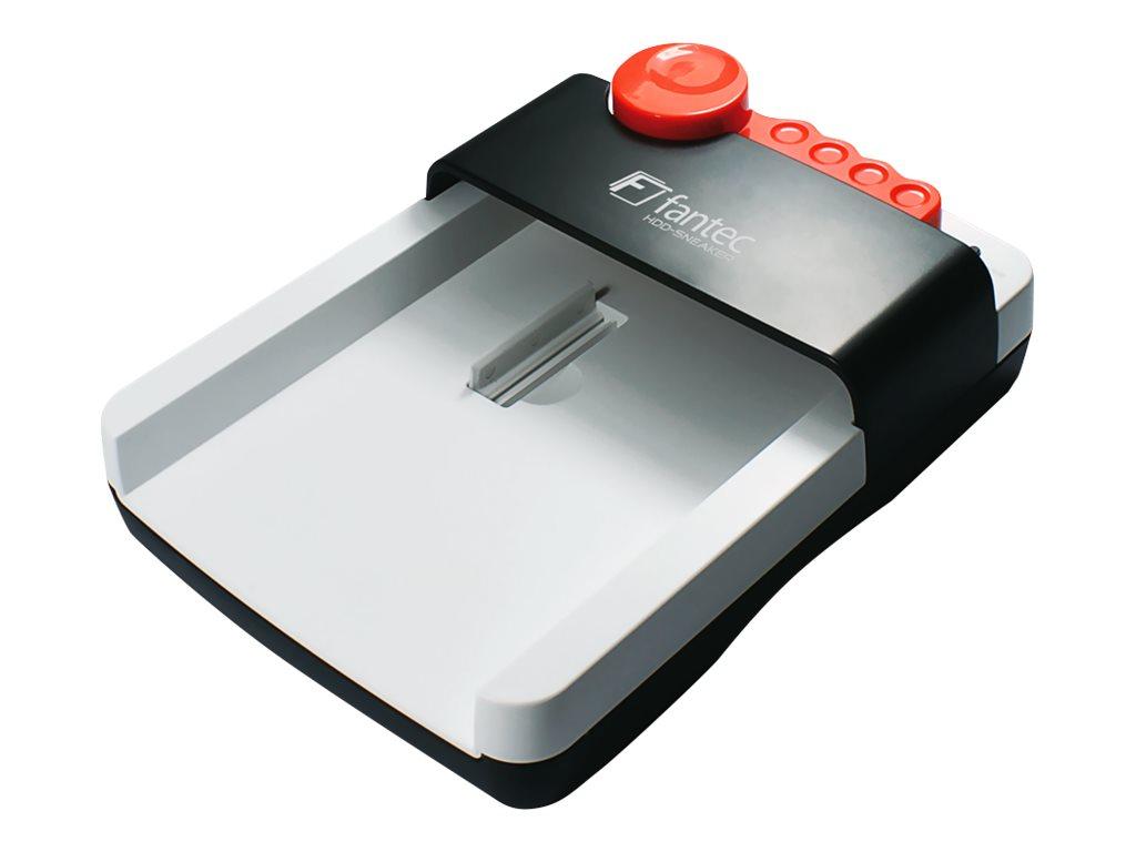 FANTEC HDD-Sneaker 2 - HDD-Dockingstation mit One-Touch-Backup, Ein/Aus-Schalter Schächte: 1 - 2.5