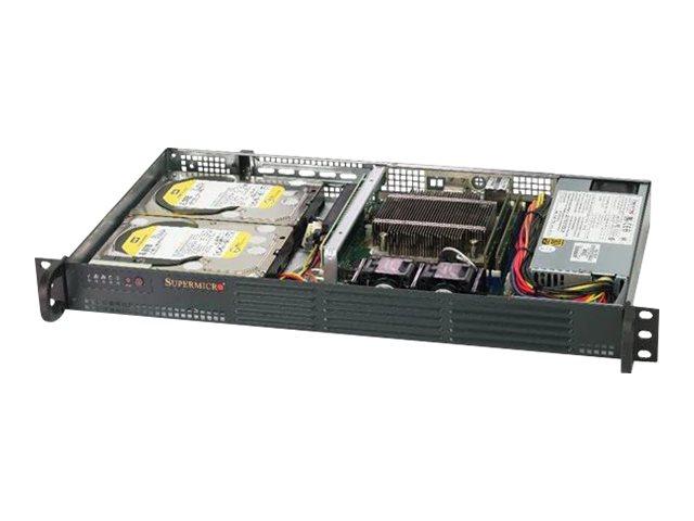 Supermicro SuperServer 5019C-L - Server - Rack-Montage - 1U - 1-Weg - RAM 0 GB
