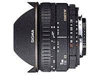 Sigma EX - Fischaugenobjektiv - 15 mm - f/2.8 DG - Canon EF