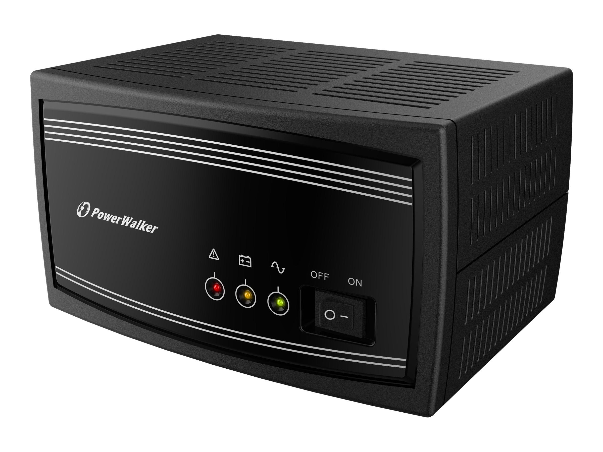 PowerWalker Inverter 650 SW - USV - 325 Watt - 650 VA - ohne Batterie - Ausgangsanschlüsse: 1