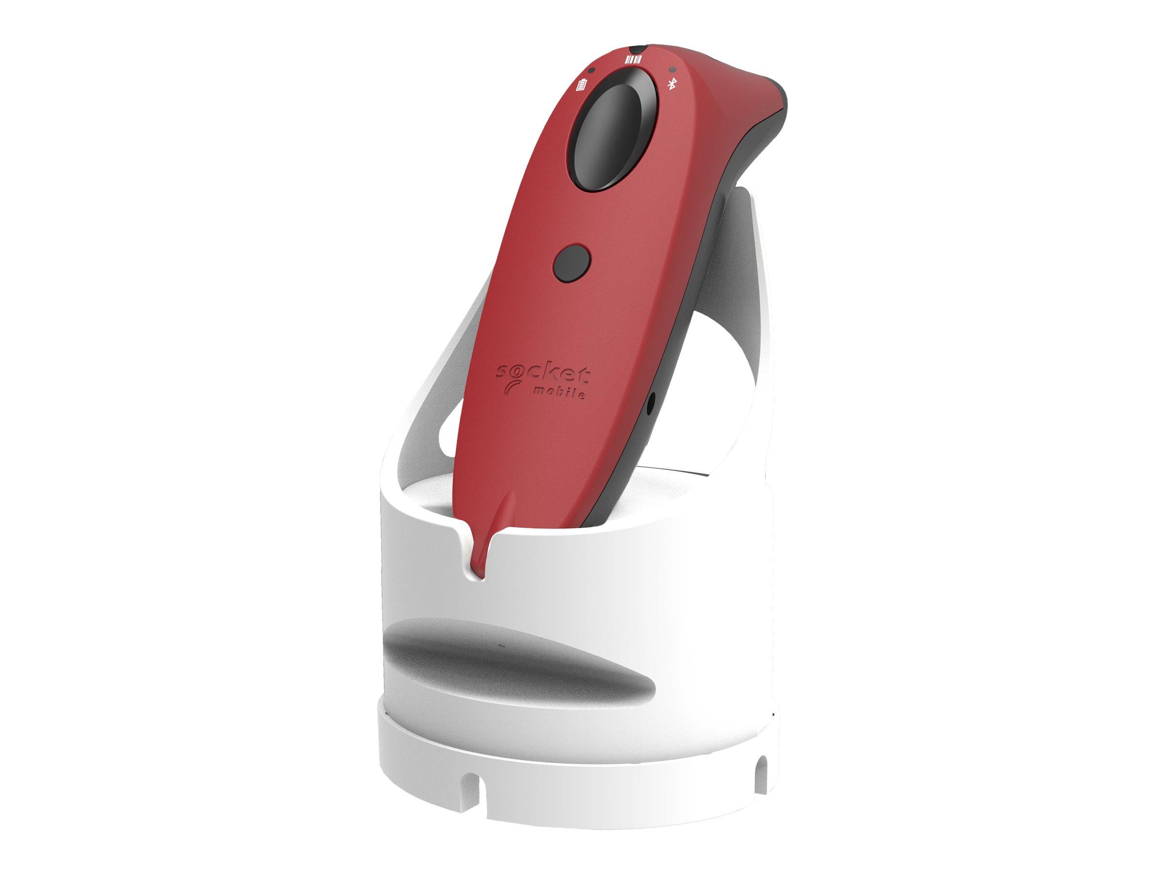 SocketScan S760 - Mit Ladeanschluss (weiss) - Barcode-Scanner - tragbar - 2D-Imager - decodiert