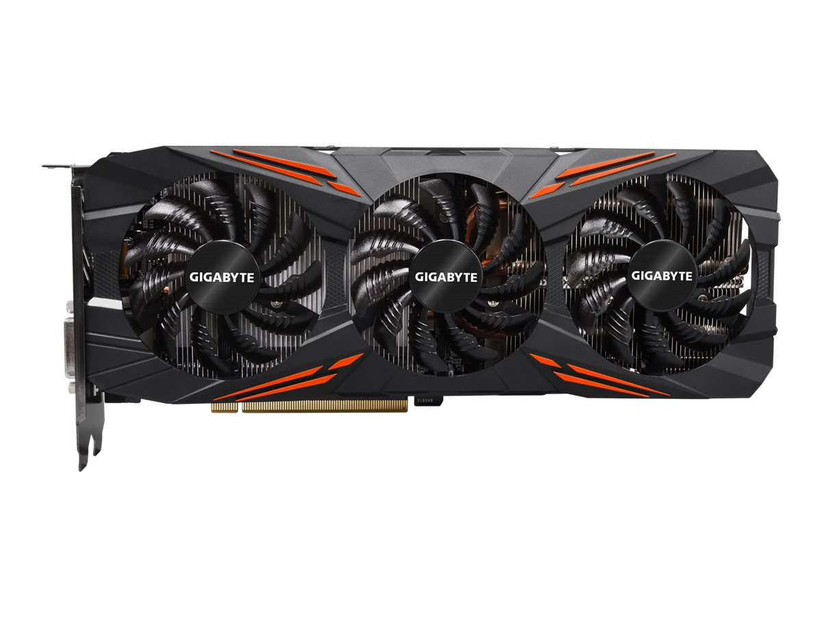 Gigabyte GeForce GTX 1070 G1 Gaming - OC Edition - Grafikkarten - GF GTX 1070 - 8 GB GDDR5 - PCIe 3.0 x16