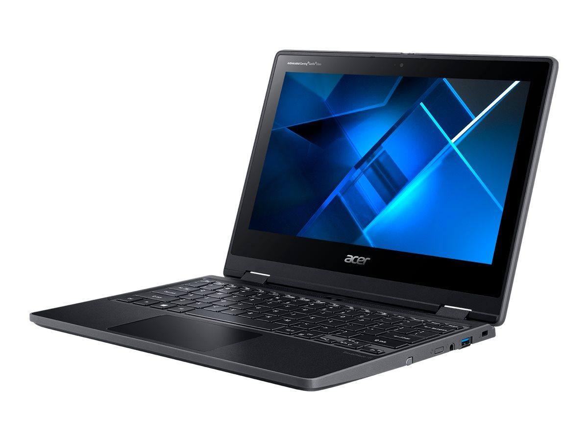 Acer TravelMate Spin B3 TMB311RNA-32 - Flip-Design - Pentium Silver N6000 / 1.1 GHz - Win 10 Home 64-Bit - 8 GB RAM - 256 GB SSD