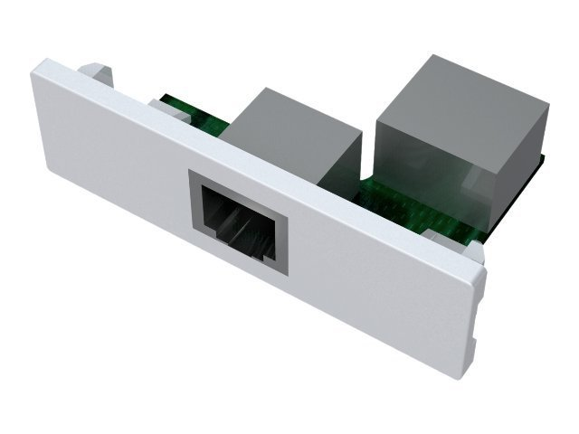 VISION TechConnect - Modulares Faceplate-Snap-In - RJ-45/RJ-11