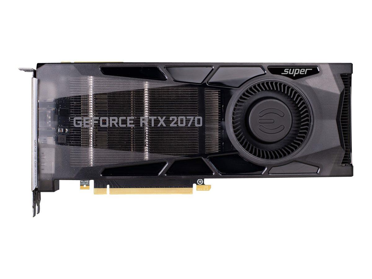EVGA GeForce RTX 2070 SUPER GAMING - Grafikkarten - GF RTX 2070 Super - 8 GB GDDR6 - PCIe 3.0 x16 - HDMI, 3 x DisplayPort, USB-C