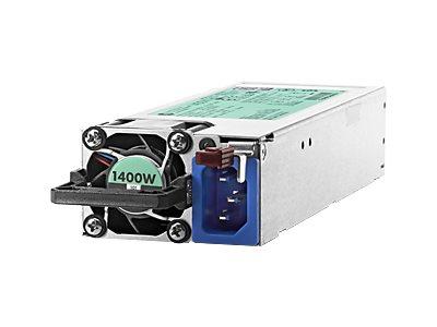 HPE - Stromversorgung redundant / Hot-Plug (Plug-In-Modul) - Flex Slot - 80 PLUS Platinum - Wechselstrom 200-240 V - 1400 Watt