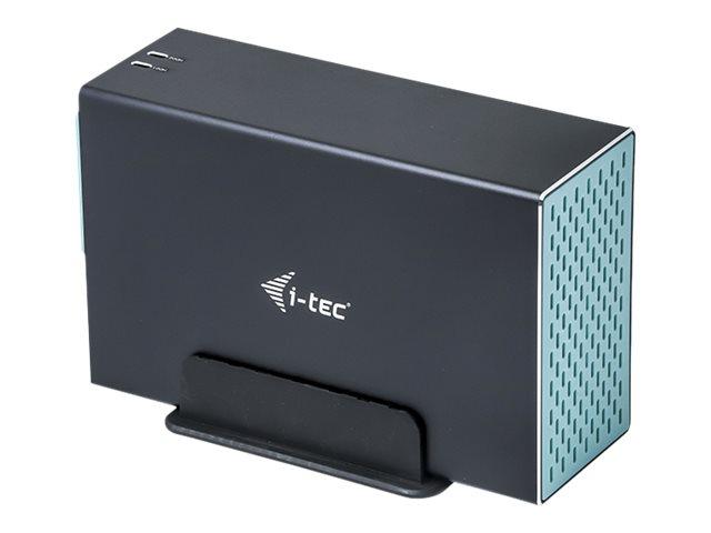i-Tec MySafe - Speichergehäuse mit Netzanzeige - 3.5