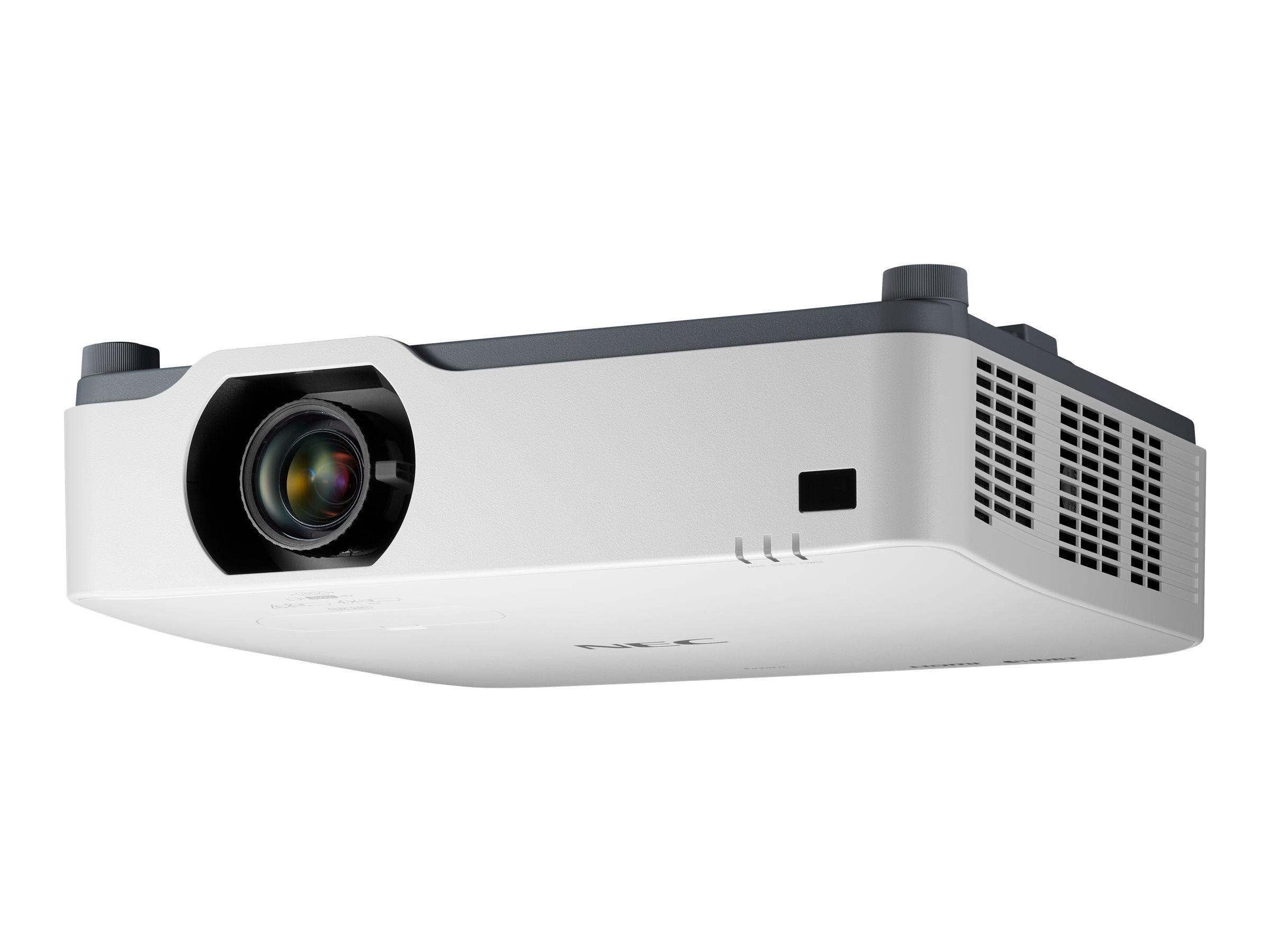 NEC P605UL - 3-LCD-Projektor - 6000 lm - WUXGA (1920 x 1200) - 16:10 - 1080p