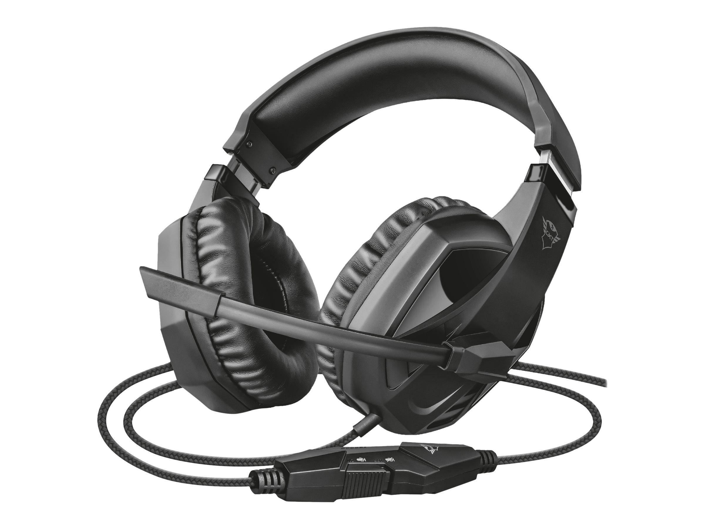Trust GXT 412 Celaz - Headset - ohrumschliessend - kabelgebunden - 3,5 mm Stecker