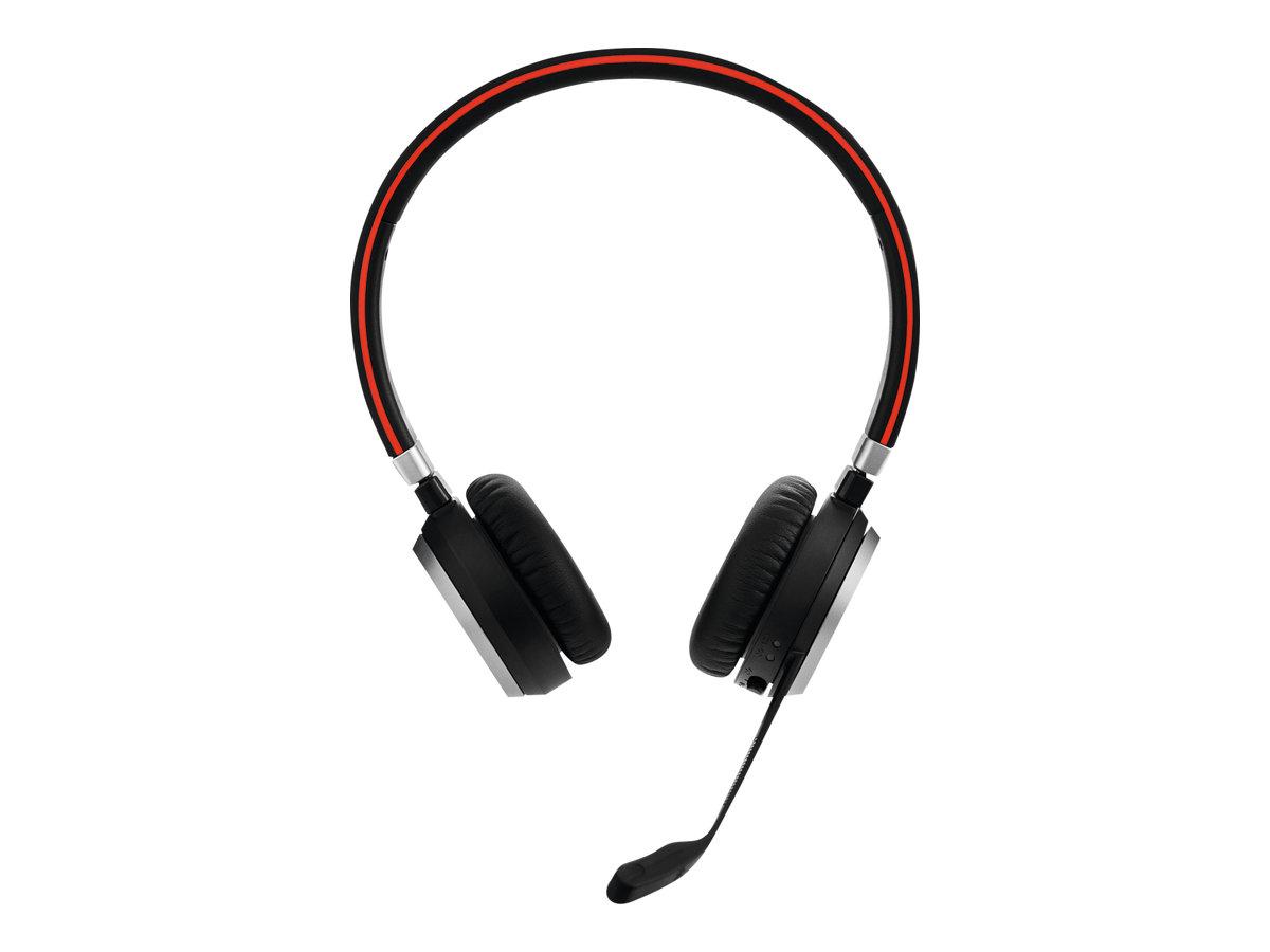 Jabra Evolve 65 MS stereo - Headset - On-Ear - Bluetooth - kabellos