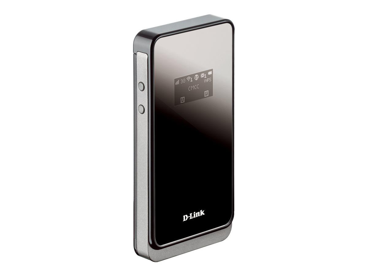 D-Link DWR-730 - Mobiler Hotspot - 3G - 21.6 Mbps - 802.11b/g/n