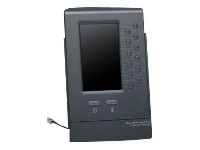Cisco Unified IP Phone Expansion Module 7916 - Funktionstasten-Erweiterungsmodul - Dunkelgrau - für Unified IP Phone 7962G, 7965