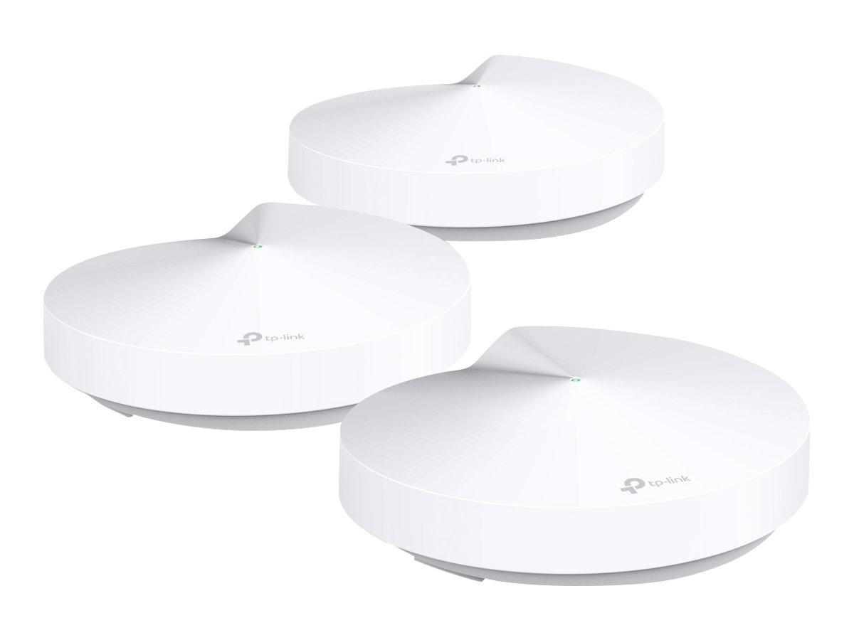 TP-Link DECO M5 - WLAN-System - bis zu 418 m² - Netz - GigE - 802.11b/g/n/ac, Bluetooth 4.2