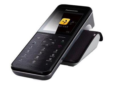 Panasonic KX-PRWA10 - Schnurloses Erweiterungshandgerät mit Rufnummernanzeige/Anklopffunktion - DECT\GAP / IEEE 802.11b/g/n (Wi-