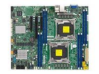SUPERMICRO X10DRL-C - Motherboard - ATX - LGA2011-v3-Sockel - 2 Unterstützte CPUs - C612