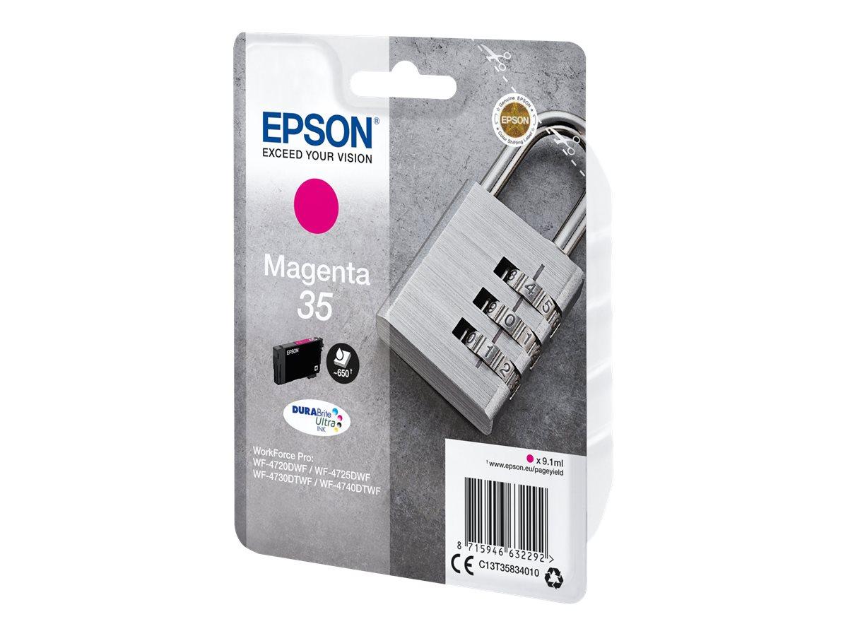 Epson 35 - 9.1 ml - Magenta - Original - Blister mit RF- / aktustischem Alarmsignal - Tintenpatrone