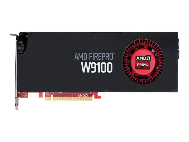 AMD FirePro W9100 - Grafikkarten - FirePro W9100 - 32 GB GDDR5 - PCIe 3.0 x16 - 6 x Mini DisplayPort