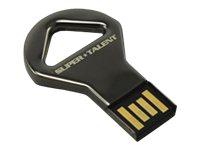 Super Talent Elite Series CKB - USB-Flash-Laufwerk - 4 GB - USB 2.0 - Nickel