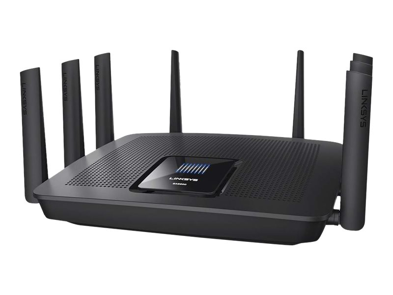 Linksys EA9500 - Wireless Router - 8-Port-Switch - GigE - 802.11a/b/g/n/ac - Tri-Band