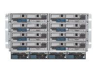 Cisco UCS 5108 Blade Server Chassis SmartPlay Select - Rack - einbaufähig - 6U - bis zu 8 Blades - Stromversorgung Hot-Plug 2500