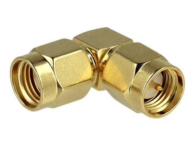 DeLOCK - RF-Adapter - SMA (W) bis RP-SMA (M) - 90° Stecker