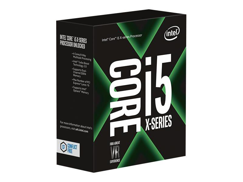 Intel Core i5 7640X X-series - 4 GHz - 4 Kerne - 4 Threads - 6 MB Cache-Speicher - LGA2066 Socket