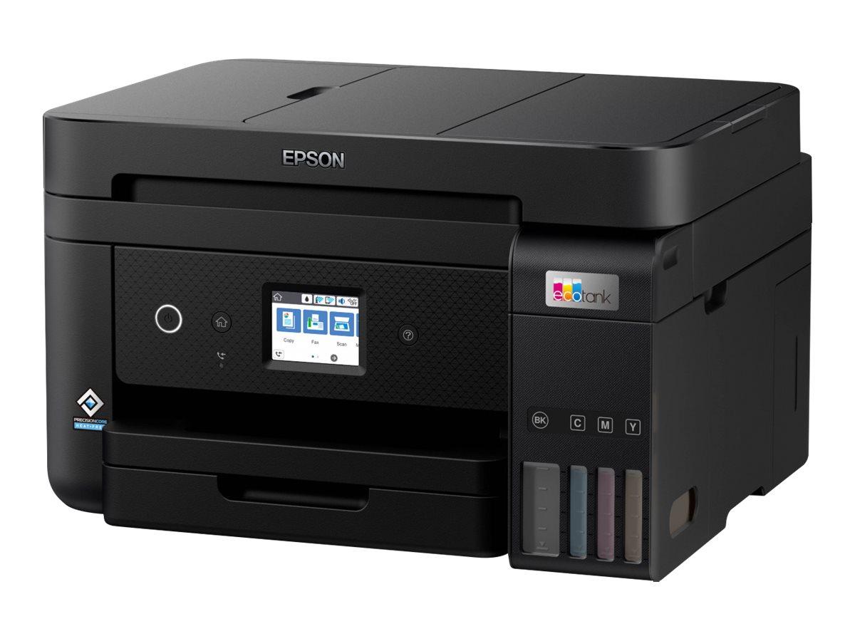Epson EcoTank ET-4850 - Multifunktionsdrucker - Farbe - Tintenstrahl - refillable - A4 (Medien)