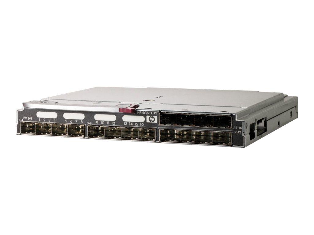 HPE 4Gb Fibre Channel Pass-Thru - Erweiterungsmodul - 4 GB Fibre Channel (SW) - Glasfaser - 16 Anschlüsse - für BLc3000 Enclosur