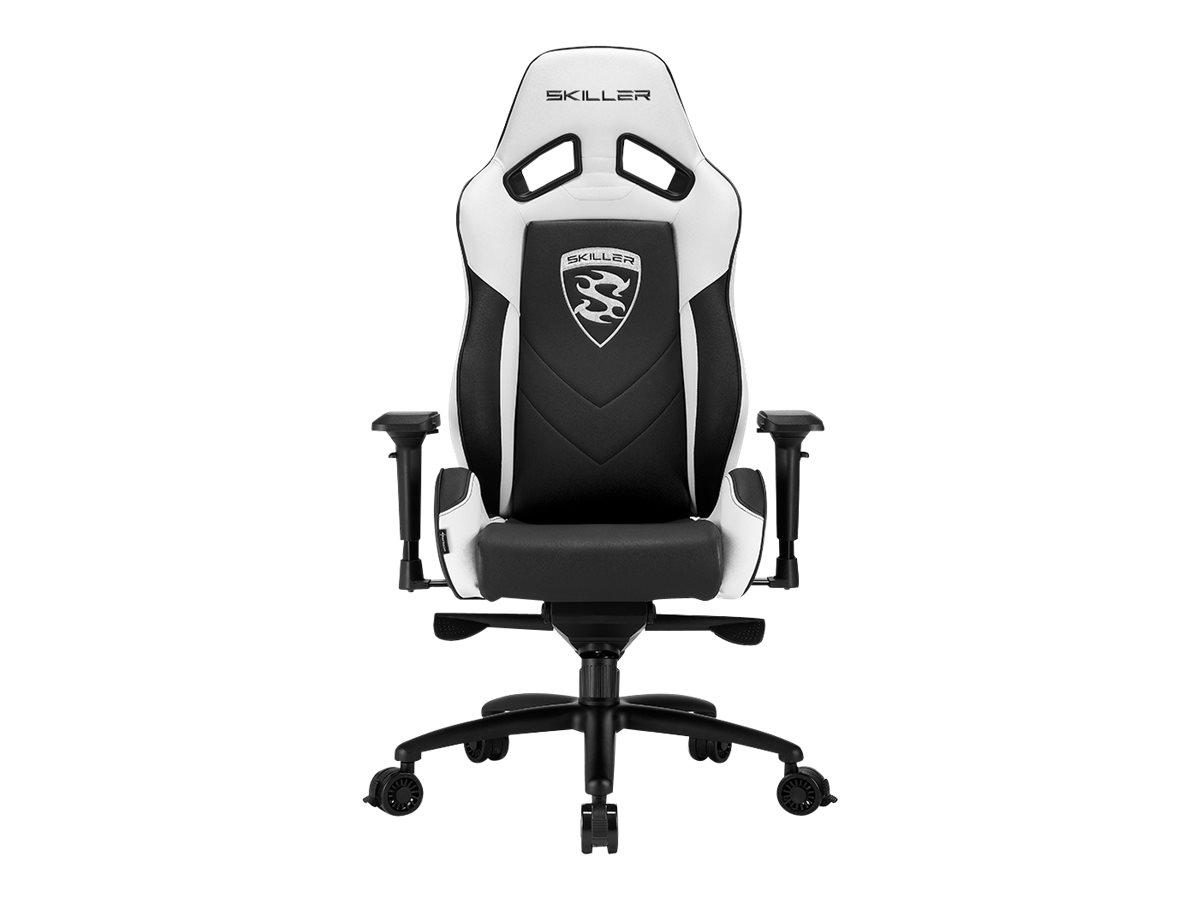 Sharkoon Skiller SGS3 - Gaming-Sessel - Armlehnen - T-förmig - Drehgelenk - Gewebe, PVC, Stahl, hochdichter Schaumstoff