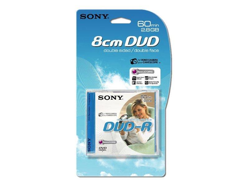 Sony DMR-60A - DVD-R (8cm) - 2.8 GB (60 Min.) - Jewel Case (Schachtel)
