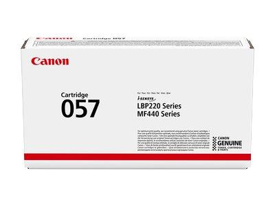 Canon 057 - Schwarz - original - Tonerpatrone - für ImageCLASS MF449; i-SENSYS LBP223, LBP226, MF443, MF445, MF446, MF449; Sater