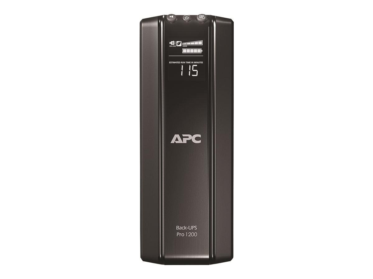 APC Back-UPS Pro 1200 - USV - Wechselstrom 230 V - 720 Watt - 1200 VA - USB