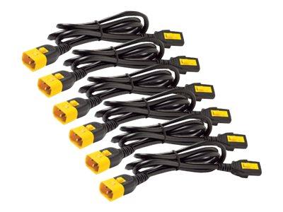 APC AP8000 - Stromkabel - IEC 60320 C13 bis IEC 60320 C14 - 10 A - 61 cm - Schwarz