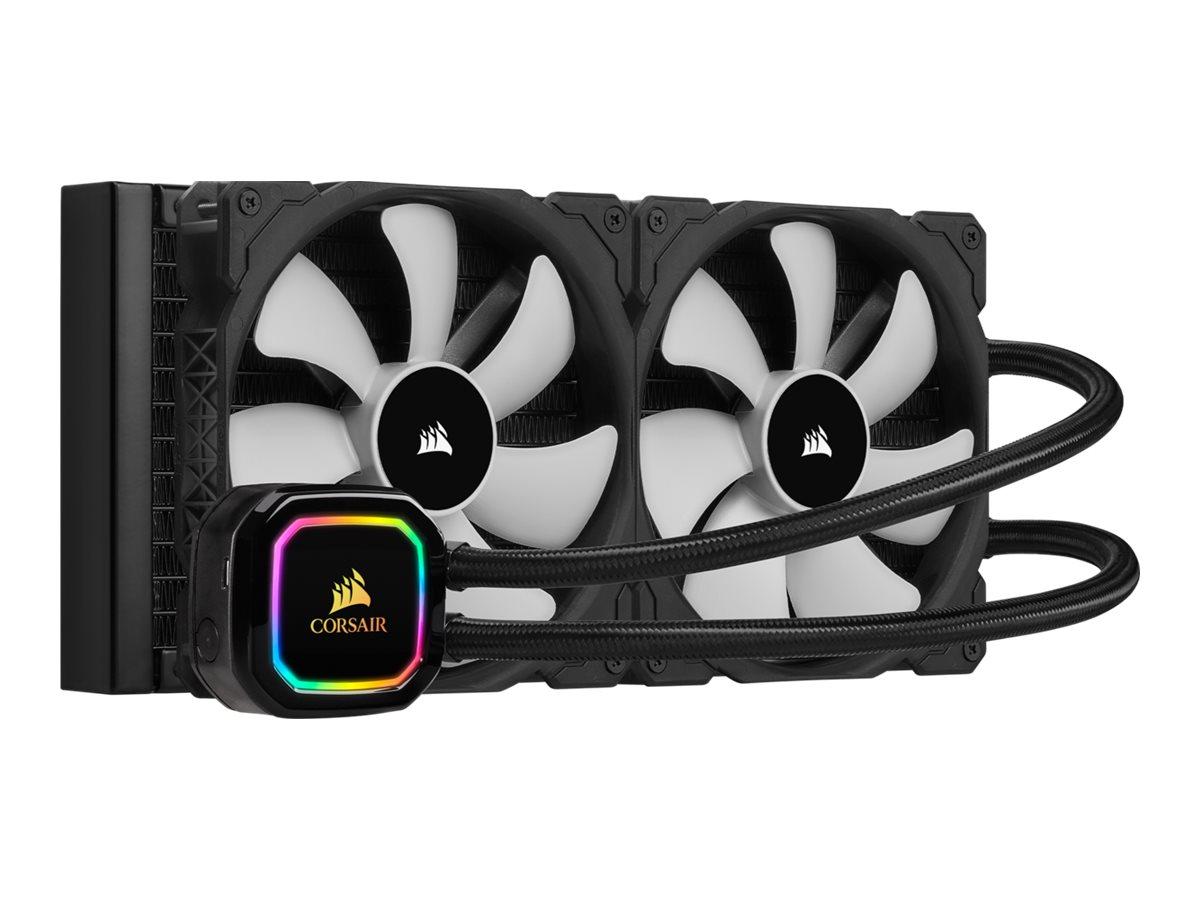 CORSAIR iCUE H115i RGB PRO XT - Prozessor-Flüssigkeitskühlsystem - (für: LGA1156, LGA1155, LGA2011, LGA1150, LGA1151, AM4, LGA20