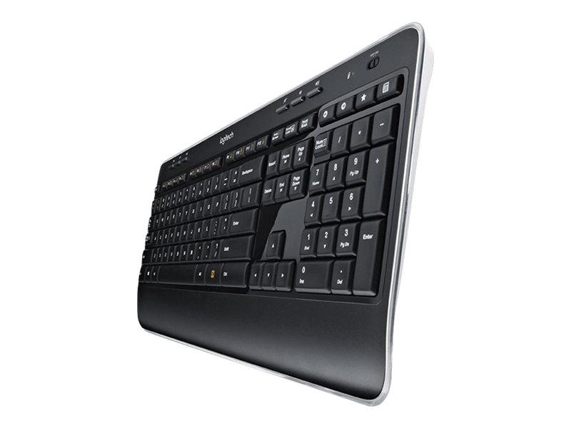 Logitech Wireless Combo MK520 - Tastatur-und-Maus-Set - kabellos - 2.4 GHz - Deutsch