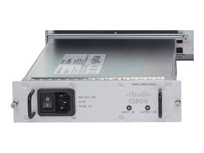 Cisco - Stromversorgung Hot-Plug (Plug-In-Modul) - Wechselstrom 100-240 V - 1000 Watt - für Catalyst 4900M