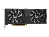 ZOTAC GAMING GeForce RTX 2080 Twin Fan - Grafikkarten - GF RTX 2080 - 8 GB GDDR6 - PCIe 3.0 x16 - HDMI, 3 x DisplayPort, USB-C