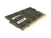 Crucial - DDR2 - 2 GB: 2 x 1 GB - SO DIMM 200-PIN - 800 MHz / PC2-6400 - CL6