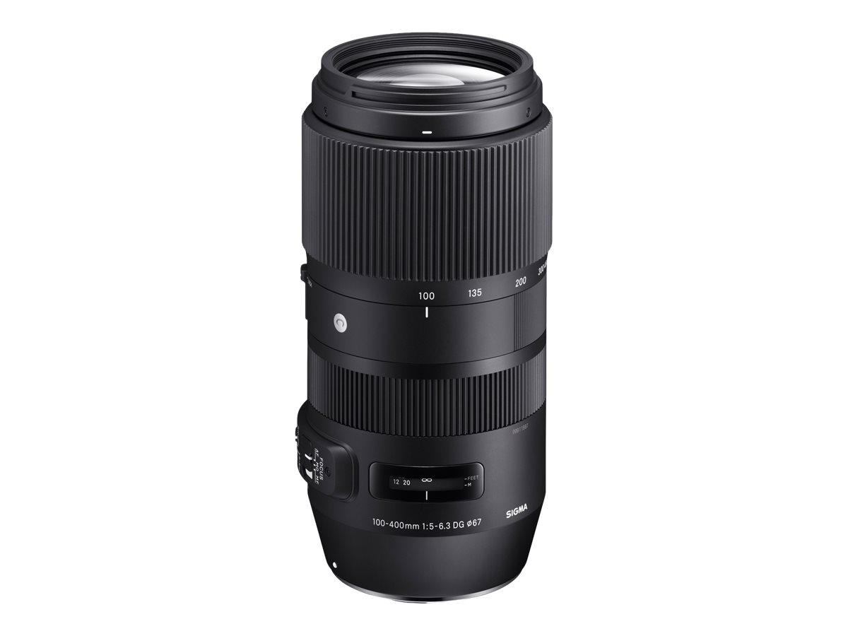 Sigma Contemporary - Telezoomobjektiv - 100 mm - 400 mm - f/5.0-6.3 DG OS HSM - Canon EF