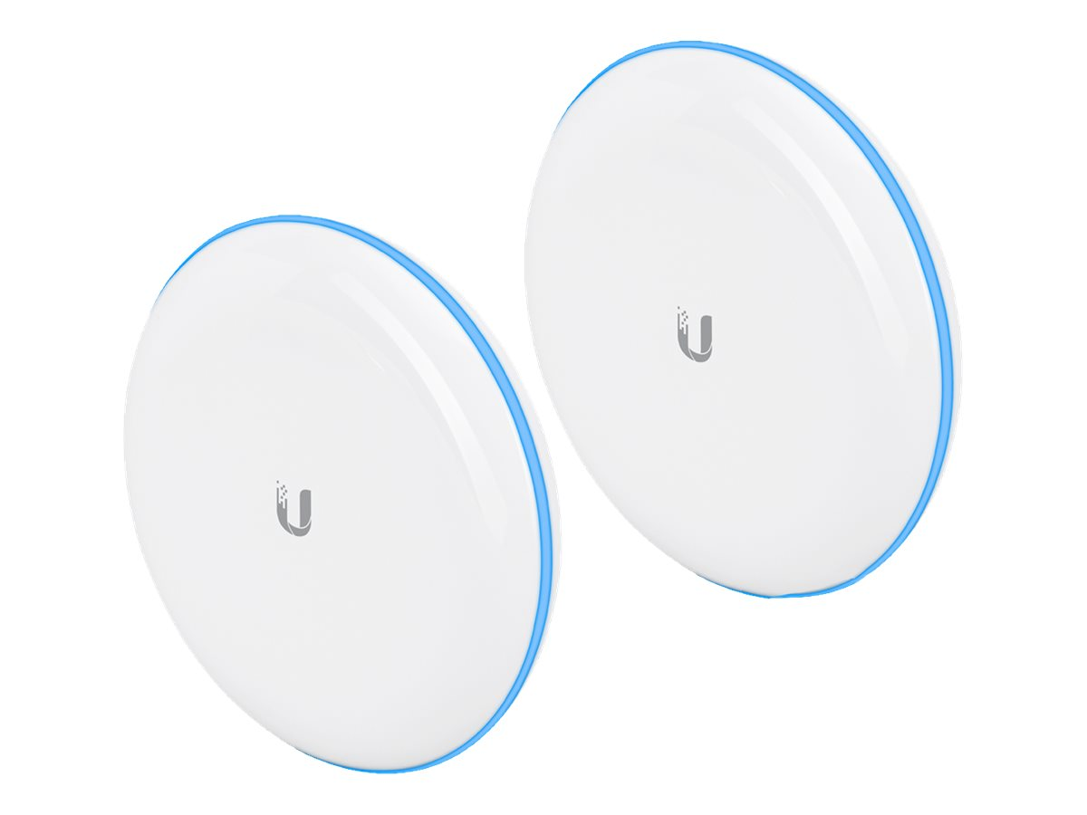 Ubiquiti UniFi Building-to-Building Bridge - Wireless Bridge - GigE, 802.11ad (WiGig) - Wi-Fi 5, 802.11ad (WiGig) - 5 GHz, 60 GH