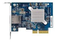 QNAP QXG-10G1T - Netzwerkadapter - PCIe 3.0 x4 Low-Profile - 10Gb Ethernet x 1 - für QNAP TS-1232, 1253, 1277, 253, 453, 473, 67