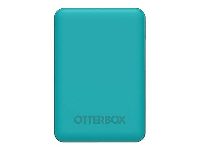 OtterBox Standard Mobile Charging Kit - Powerbank - 5000 mAh - 10.5 Watt - 2.1 A - Apple Fast Charge, FC (USB)