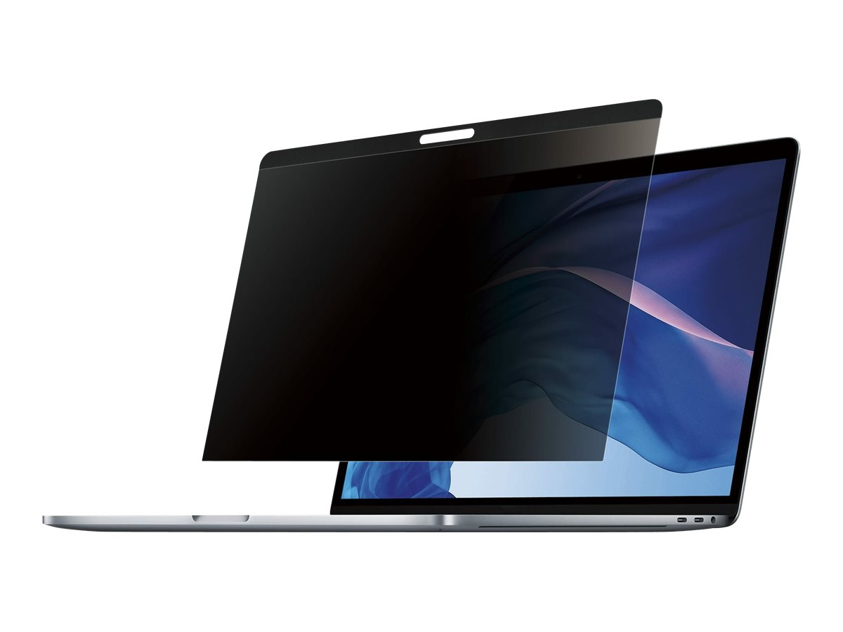 StarTech.com Laptop Privacy Screen for 13 inch MacBook Pro & Air - Magnetic Removable Security Filter - Blue Light Reducing - Ma