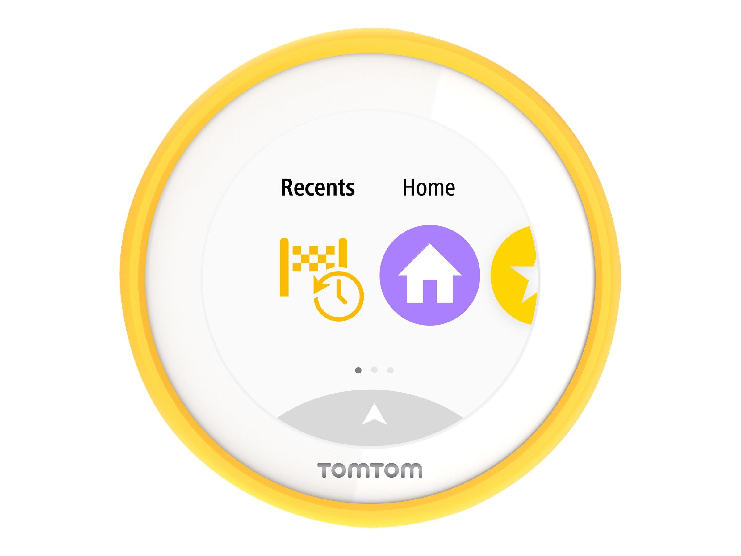 TomTom VIO - Tasche hintere Abdeckung für GPS - Silikon - für VIO