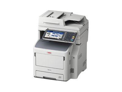 OKI MB760dnfax - Multifunktionsdrucker - s/w - LED - A4 (210 x 297 mm) (Original) - A4 (Medien)