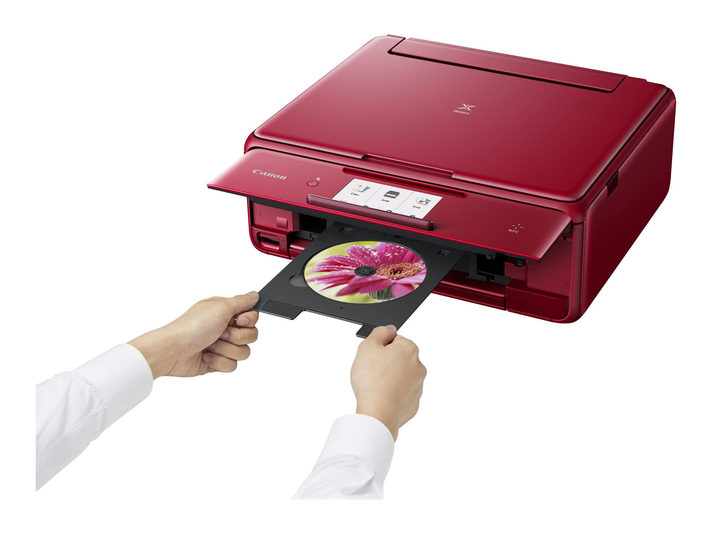 Canon PIXMA TS8052 - Multifunktionsdrucker - Farbe - Tintenstrahl - 216 x 297 mm (Original) - A4/Legal (Medien)