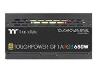 Thermaltake ToughPower GF1 ARGB 650W - TT Premium Edition - Netzteil (intern) - ATX12V - 80 PLUS Gold - 650 Watt