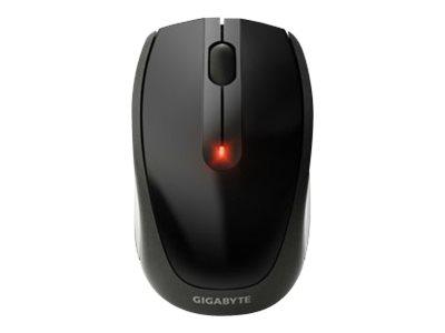 Gigabyte M7580 - Maus - rechts- und linkshändig - optisch - 3 Tasten - kabellos