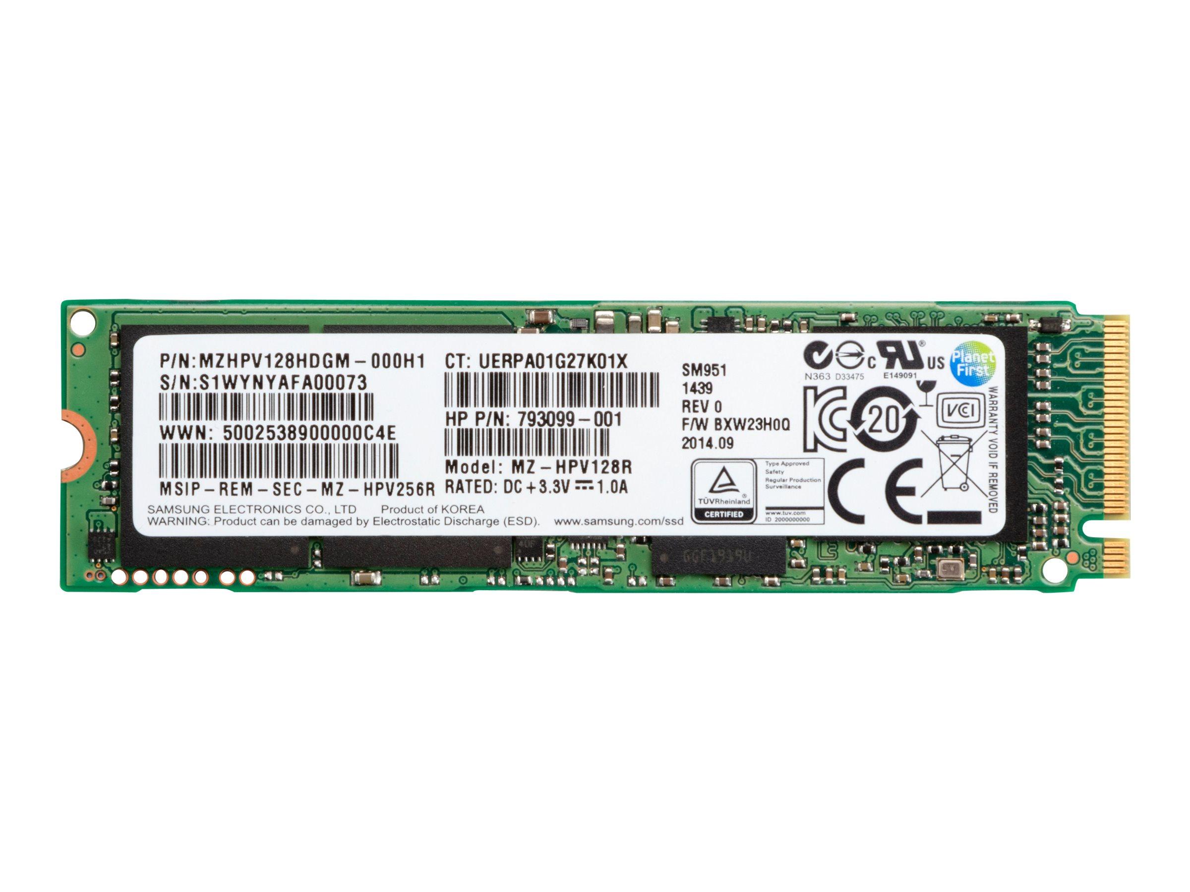 HP - Solid-State-Disk - 128 GB - intern - M.2 2280 (doppelseitig) - SATA 6Gb/s