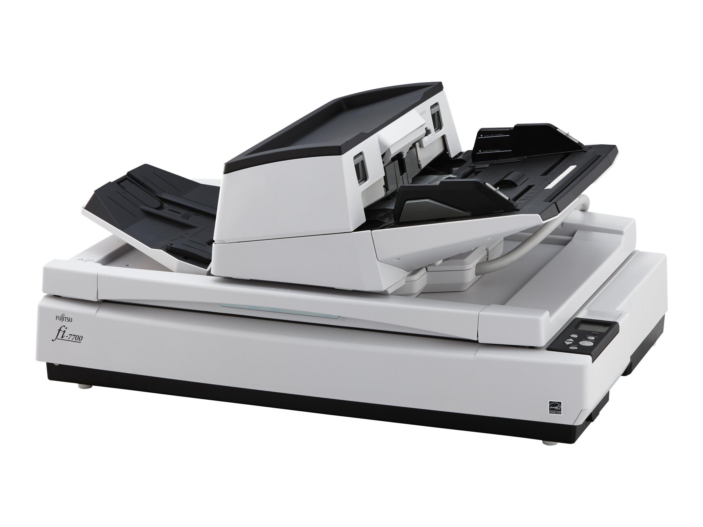 Fujitsu fi-7700 - Dokumentenscanner - Duplex - ARCH B - 600 dpi x 600 dpi - bis zu 100 Seiten/Min. (einfarbig) / bis zu 100 Seit